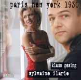 Paris New York 1930 Music for Sax & Piano