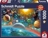 Schmidt puzzel Outer Space 1000 stukjes