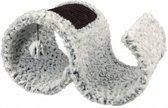 Trixie krabplank lora wit / zwart 47x25x35 cm