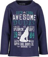 Blue Seven Jongens T-Shirt - Donker Blauw - Maat 92