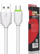 LDNIO LS04 Gecertificeerde kabel 1 Meter Micro USB  High Speed Laadsnoer Oplaadkabel voor Samsung Galaxy Tab 3 4 A E Lite S S2 Pro 7.0 8.0 8.4 9.6 9.7 10.1 Inch