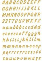 Herma 4152 Etiket met letters A-Z 8mm Goud-Transparant