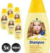 Schwarzkopf Elke Dag Shampoo 400 ml - 5 stuks - Voordeelverpakking