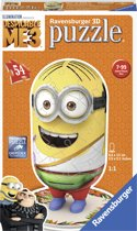 Ravensburger Despicable Me 3 Tourist Minion- 3D puzzel - 54 stukjes