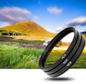 3x 46mm ND Filter grijsfilter +2+4+8 camera lens filter