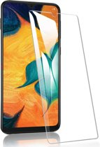 Samsung Galaxy A40 - Tempered Glass Screenprotector - Case-Friendly