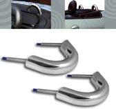 Chromen rolbeugels geschikt voor Peugeot 206 CC / Cabrio