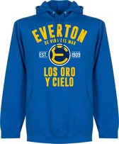 Everton de Chile Established Hoodie - Blauw - M