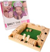 Shut the box 4 spelers 29 x 29 x 3.5cm