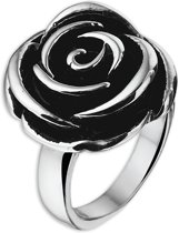 The Jewelry Collection Ring Roos - Staal