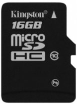 Kingston Micro SD kaart 16 GB - Class 10