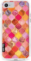 Casetastic Hard Case Apple iPhone 7 / 8 - Pink Moroccan Tiles