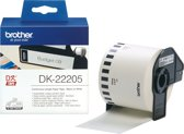 DK-22205 Continue Length Tape: 62mm - Thermal paper - white (30.48m)