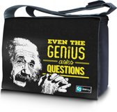 Messengertas / laptoptas 17,3 inch Genius - Sleevy - laptoptas - schooltas