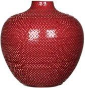 Mica Decorations - gabriel fles bordeaux - maat in cm: 25 x 26