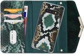 Mobilize Velvet Clutch for Samsung Galaxy S10 Green Snake