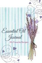 Essential Oil Recipe Journal - Special Blends & Favorite Recipes - 6'' x 9'' 100 pages Blank Notebook Organizer Book 8