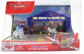 Disney Planes - Judge racer speelset pit row