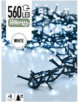 Clusterverlichting / Kerstverlichting / Kerstboomverlichting / Lichtsnoer Wit (11 meter)