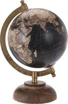 Wereldbol op Voet, 12,5cm