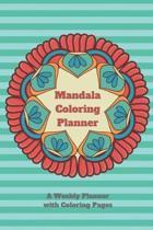 Mandala Coloring Planner