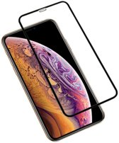 Zwart iPhone XS Max Tempered Glass Screen Protector