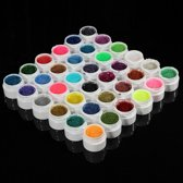 UV Gel Lak Builder - Glitter Gel - Nagel Decoratie Set Gel Acryl - 36 Stuks