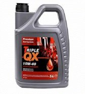Triple QX Motorolie 5 liter halfsynthetisch premium
