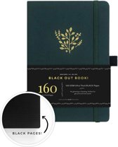 Archer & Olive The Blackout Book A5 Dotted - Deep Green