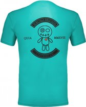 WRONG FRIENDS - VERONA T-SHIRT - TURQUOISE - XS