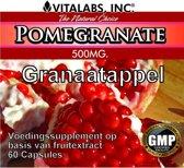 VitaTabs Granaatappel - 500 mg - 60 capsules - Voedingssupplementen