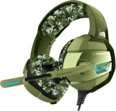 Rampage RM-K5 camouflage 7.1 surround sound gaming headset