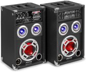 Fenton KA-06 - Actieve speakerset met USB en LED - 400W