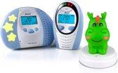 Alecto DBX-88 ECO Digitale ECO DECT babyfoon + Gratis Nachtlampje| 100% storingsvrije verbinding, ECO modus en nachtlamp Draakje | Wit / Blauw \ Groen