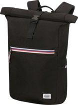 American Tourister Rugzak Met Laptopvak - Upbeat Rolltop Laptop Backpack 14.1 Zip (Handbagage) Black