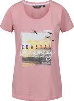 Regatta-Filandra III-Outdoorshirt-Vrouwen-MAAT S-Roze