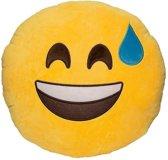 Emoji kussen/knuffel - laugh  - 30*30 cm