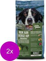 Pets Place Naturals Adult Graanvrij Kip&Aardappel - Hondenvoer - 2 x 3 kg