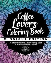 Coffee Lover's Coloring Book
