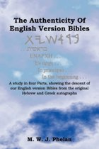 The Authenticity Of English Version Bibles