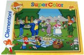 Geronimo Stilton Super Color puzzel - Picknick - 250 stukjes