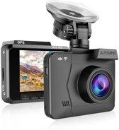 AZDome M06P Ultra 4K dashcam - True 4K - Wifi - GPS - Parkeerstand