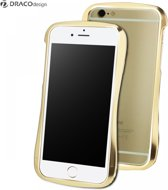 iPhone 6 DracoDesign Draco 6X Hand Polished Aluminium Bumper Case 6061 Luxury Gold + DrPhone screenprotector