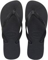 Havaianas Top Unisex Slippers - Black/Black Black - Maat 41/42