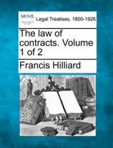 The Law of Contracts. Volume 1 of 2