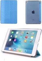 GSMWise® – Apple iPad 2 / 3 / 4 - Smart Book Case Retro Leather Hoes voor bescherming voor- en achterkant – Kleur Blauw
