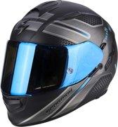 Scorpion Integraalhelm EXO-510 Route Matt Black/Blue-L