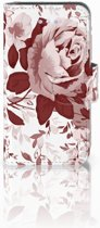 iPhone 4 | 4S Uniek Boekhoesje Watercolor Flowers