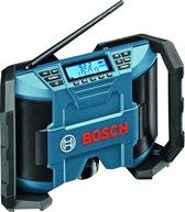 Bosch GML 10,8 V-LI Professional Draagbaar Digitaal Zwart, Blauw radio