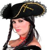 Piratenhoed Fanny zwart